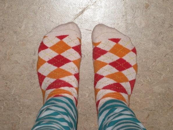 冷えとりのための靴下